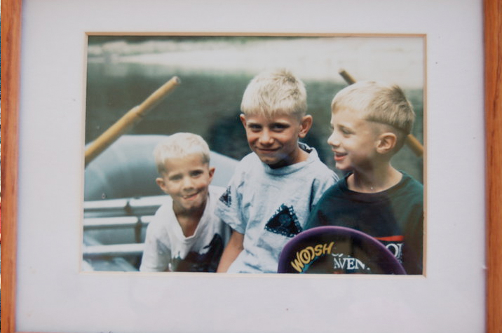 1994: Volpert brothers Skip, Will, and Matt on the Main Salmon, Idaho.