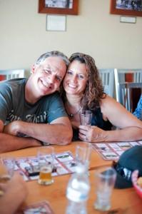 Brewery tour participants