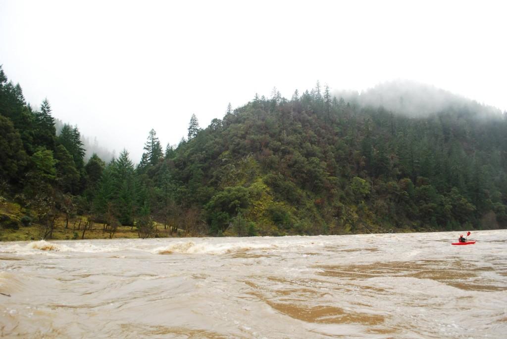Howard Creek enters on river left.